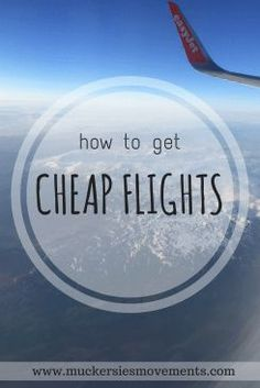People are always asking me how I can afford to travel so much… Well here are five tips on how I get my cheap flights!