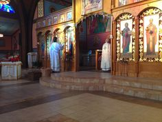 New Liturgical Movement  St. John Chrysostom Byzantine Catholic Church in Columbus, Ohio Divine Liturgy on the Feast of the Dormition of the Theotokos