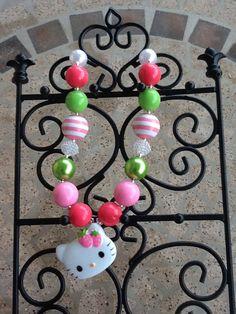 Items similar to Children's Chunky Beaded Necklaces on Etsy. , via Etsy.