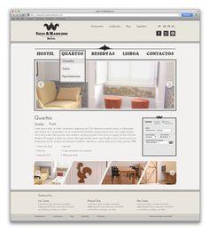 Jules & Madeleine Hostel - Website on Behance