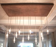 DIY Chandelier with Tutorial