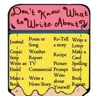 Many students struggle with writer's block.  Included in this download are Don't know what to write about slips and a poster!  This slips/poster in...