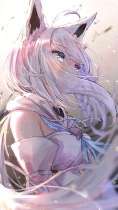 Anime Neko, Lolis Neko, Anime Furry, Chica Anime Manga, Fanarts Anime, Otaku Anime, Anime Wolf Girl, Cool Anime Girl, Pretty Anime Girl
