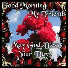 Good morning sister and all,have a beautiful day,God bless,xxx take care and keep safe.❤❤❤☀