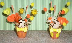 Vasetti in Terracotta Decorativi con Coniglietti^^ Primavera Editio... | su MissHobby