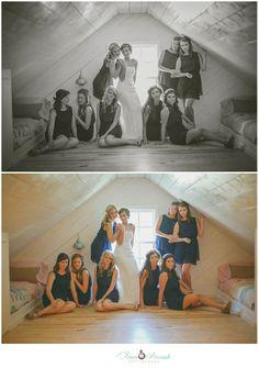 Danville, Alabama Wedding » Anna Pociask Photography, LLC bridesmaids  posing ideas