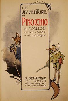 hic et nunc Popeye Olive Oyl, John Bauer, Pinocchio, Vintage Posters, Fairy Tales, Literature, Nostalgia, Cartoon, Book Illustration