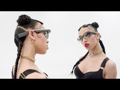 Watch FKA twigs Go Through The (Google) Glass THINGS I LURVE