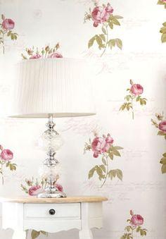 rose garden galerie wallpaper #homedecor #floral #wallpaper