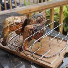 Weber Original 6406 Steel Barbecue Rib Rack