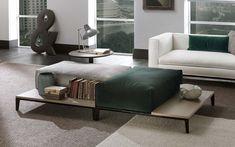 """Taylor Junior"" Ottoman by Frigerio Mini Sofa, Matching Furniture, Furniture, Comfortable Sofa, Ottoman, Furnishings, Interior, Coffee Table, Upholstered Coffee Tables"