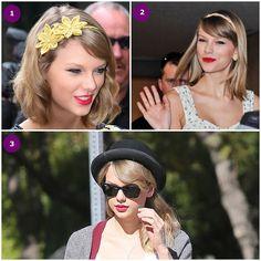 Estilo e Personalidade A Mulher Romântica Moda, características e comportamento Taylor Swift maquiagem cabelo