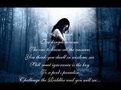nightwish lyrics | Nightwish - The Riddle Lyrics - YouTube