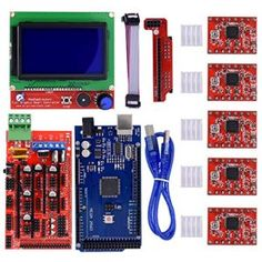3D Smart Display Controller Modul Drucker Kit V1.4 12864 LCD Grafik mit A Nice