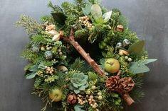 Fresh Christmas Wreath 05