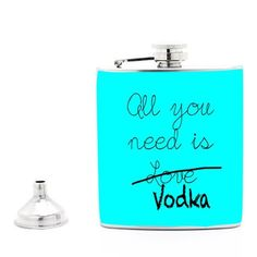 Sassy 'n' Cool Hip Flasks for Hipsters ! GET Boozy