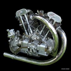 NO 7: VINTAGE 1934 BROUGH SUPERIOR 998cc JTOS J.A.P 8/75 MOTORCYCLE ENGINE | Flickr - Photo Sharing!
