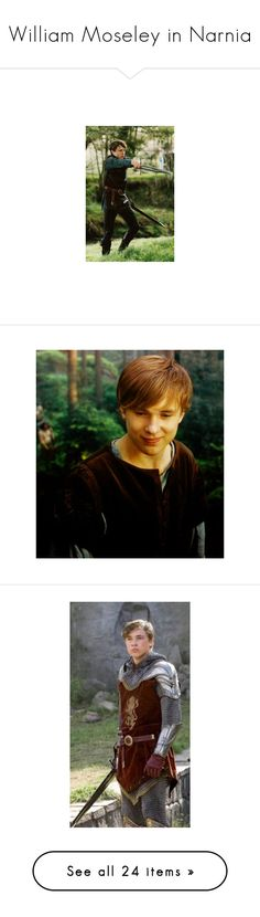 """""""William Moseley in Narnia"""" by imawkwardhey ❤ liked on Polyvore featuring peter, narnia, people, photos, pictures, william moseley, chronicles of narnia, actors and fantasy"""