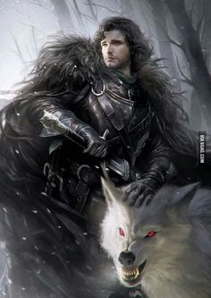 The fans are very excited for game of thrones season 7 which is releasing on 16 July 2017 and promoting on his own level. Jon Snow and Ghost ~ Game of Thrones Fan Art Art Game Of Thrones, Dessin Game Of Thrones, John Snow, Winter Is Here, Winter Is Coming, Winter Snow, Jon Schnee, Elfen Fantasy, Fantasy Art