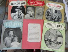 Royal Family of England set of SEVEN History by VistaChick on Etsy, $28.00