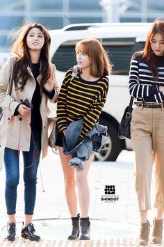 Seol  Hyun,Ji Min & Hye Jeong (AOA)