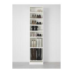 PAX Vaatekaappi - 50x38x201 cm, perussaranat - IKEA