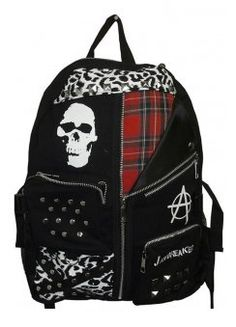 Skull Anarchy Backpack