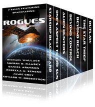 Rogues by Michael Wallace, Daniel Arenson, & Others ebook deal