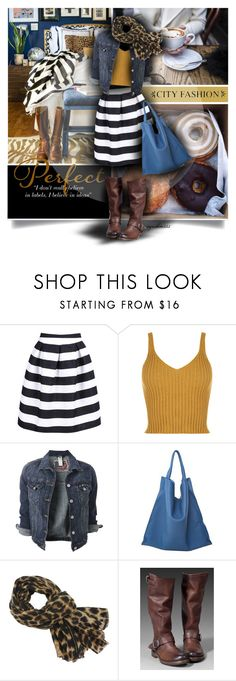 """""""This and That"""" by cynthia335 ❤ liked on Polyvore featuring ANNA, GE, WithChic, WearAll, Jil Sander and Frye"""