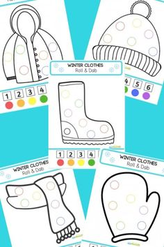 Winter Roll & Dab Color Worksheets FREE Winter Roll & Dab Color Worksheets – these clever and fun winter printables help toddler, preschool, and kindergarten age kids practice color recognition with a fun winter theme. We LOVE bingo marker worksheets! Preschool Themes, Preschool Lessons, Preschool Activities, Toddler Preschool, Winter Crafts For Kids, Winter Kids, Petite Section, Daycare Curriculum, Snow Activities