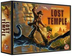 boutique jeux de société - pontivy - morbihan - ludis factory - lost temple
