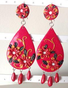 bcec7550350d Las 10 mejores imágenes de pendientes flamenca