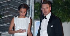 Michael Fassbender and Alicia Vikander at Golden Globes 2016 ...