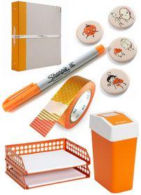 Orange Office Tools #BDI #colorcues #orange