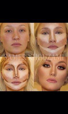 Contour Your Face #Makeup #Trusper #Tip
