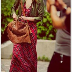 """Free People red plaid VENITIA MAXI DRESS This plaid dress is accented with gentle ruffles. A drawstring drapes from the back, creating a sweet touch. Sleeveless. Lined.    *Shell: 100% Polyester *Lining: 100% Rayon *Hand Wash Cold *Import Measurements for 4: Bust: 33?  Length: 52?  Arm Hole Drop: 8"""" Free People Dresses Maxi"""