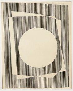 blueberrymodern: josef albers Josef Albers - White circle...