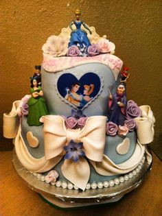 Edible Art. Cinderella Princess Cake