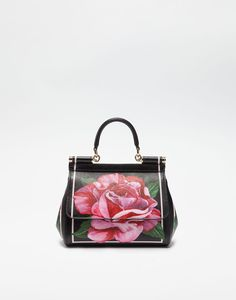 d922cb6e39fd SMALL SICILY BAG IN PRINTED DAUPHINE LEATHER Vintage Heels