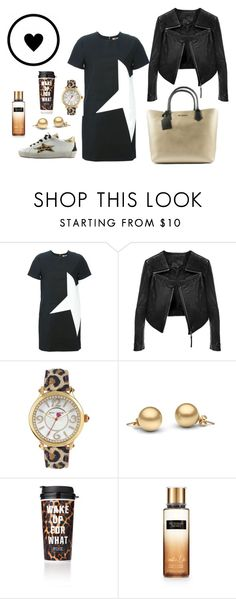 """Leopard Print"" by freekyshop on Polyvore featuring moda, MSGM, Ishikawa, Linea Pelle, Betsey Johnson e Victoria's Secret"