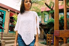 Crochet Pattern Central - Free Pattern - Ice Cystals Poncho