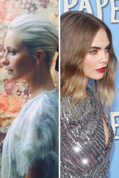 Beauty Notes: Sisters Poppy & Cara Delevingne (Vogue.co.uk)