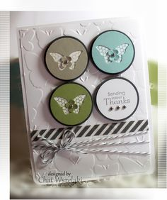 Petite Pairs, Bitty Butterfly Punch,  Me, Mystamps and I, Stampin' Up