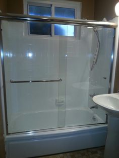 Fiberglass Shower Pans Come Out Like New When Reglazed By A Professional