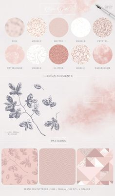 Elegant Toolkit --- Add some tenderness to your project. Use one of the four color collections: Rose Gold, Aquamarine, Glacier Gray and Lucite Green. Hight Light, Feeds Instagram, Branding Design, Logo Design, How To Make Logo, Instagram Highlight Icons, Grafik Design, Graphic Design Inspiration, Design Elements