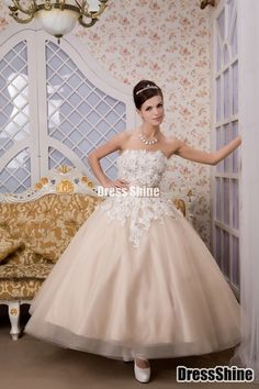 I like this - Glamorous Ball Gown Strapless Floor-Length Tulle Prom Dress. Do you think I should buy it?