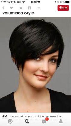 Cute short hair cut!