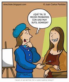 El Rechiste: 0331: Mona Lisa