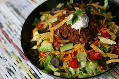 "The Ordinary Vegetarian: Super Veggie Lentil Taco ""Meat"""