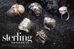 jewelry editorial images   Wedding Jewelry: Sterling Memories   InsideWeddings.com